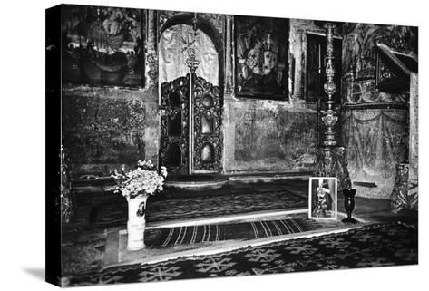 Vlad Dracul's Grave, Snagov Monastery, Wallachia, Romania-Simon Marsden-Stretched Canvas Print