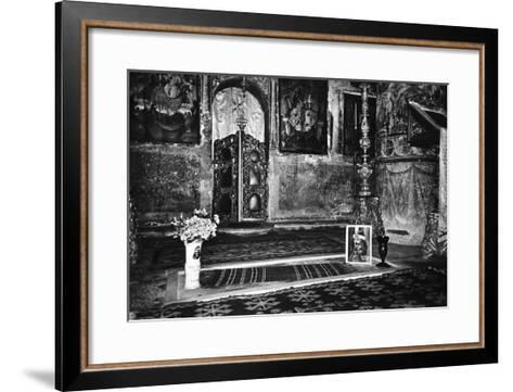 Vlad Dracul's Grave, Snagov Monastery, Wallachia, Romania-Simon Marsden-Framed Art Print