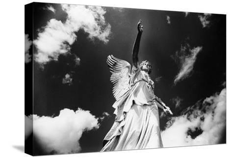 Angel, Powerscourt, County Wicklow, Ireland-Simon Marsden-Stretched Canvas Print