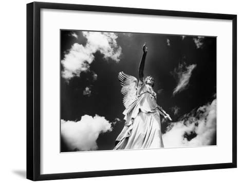 Angel, Powerscourt, County Wicklow, Ireland-Simon Marsden-Framed Art Print