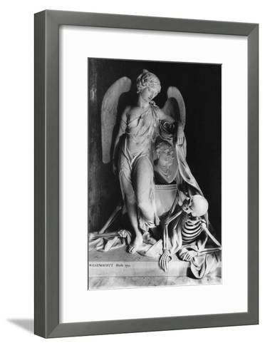 Memorial to James Lennox Dutton, St Mary Magdalene Church, Sherborne, Gloucestershire, England-Simon Marsden-Framed Art Print