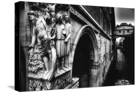 Drunkenness of Noahae on the Corner of the Dogeaes Palace Leading to the Aeponte Dei Sospiriae-Simon Marsden-Stretched Canvas Print