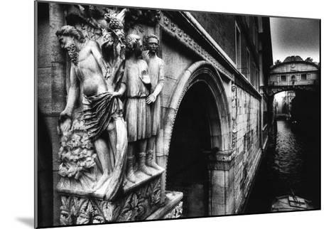 Drunkenness of Noahae on the Corner of the Dogeaes Palace Leading to the Aeponte Dei Sospiriae-Simon Marsden-Mounted Giclee Print
