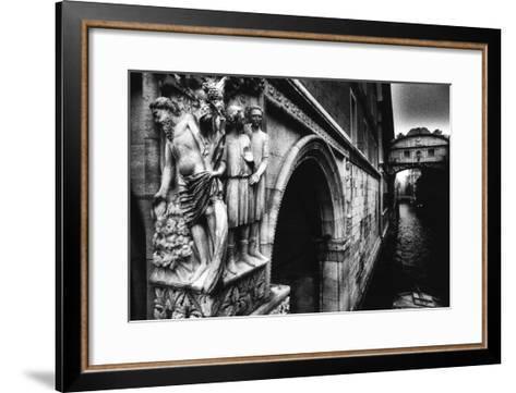 Drunkenness of Noahae on the Corner of the Dogeaes Palace Leading to the Aeponte Dei Sospiriae-Simon Marsden-Framed Art Print