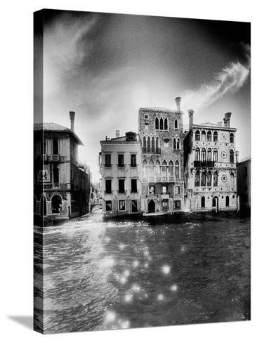 Palazzo Dario, the Grand Canal-Simon Marsden-Stretched Canvas Print