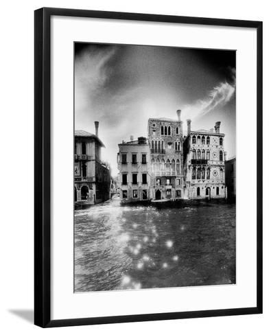 Palazzo Dario, the Grand Canal-Simon Marsden-Framed Art Print