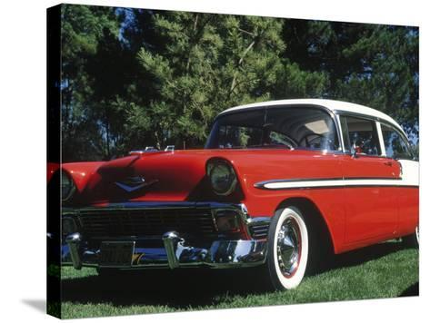1956 Chevrolet Bel-Air-Gary Conner-Stretched Canvas Print
