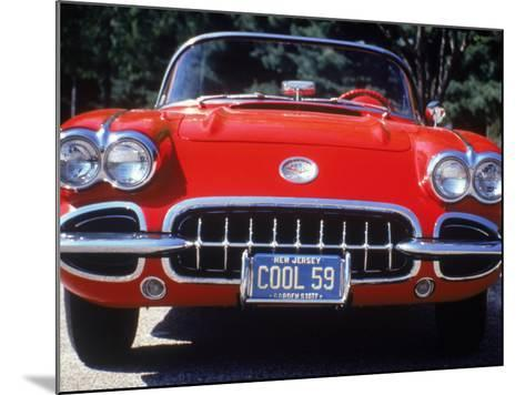 1959 Corvette Convertible-Jeff Greenberg-Mounted Photographic Print