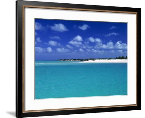 Tropical Scenic, Turks and Caicos Islands-Timothy O'Keefe-Framed Art Print