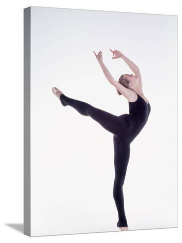 Ballerina Dancing-Bill Keefrey-Stretched Canvas Print