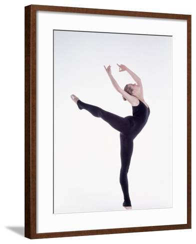 Ballerina Dancing-Bill Keefrey-Framed Art Print
