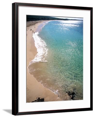 Makena Beach, Maui, HI-Tomas del Amo-Framed Art Print