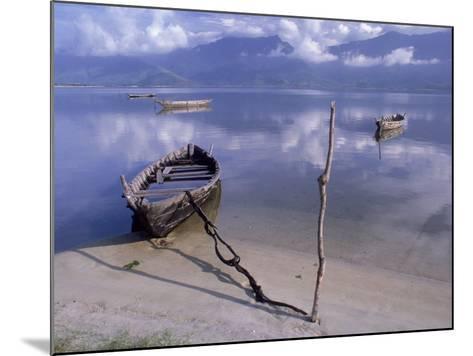 Rowboats, Danang, Vietnam-Fred Scribner-Mounted Photographic Print