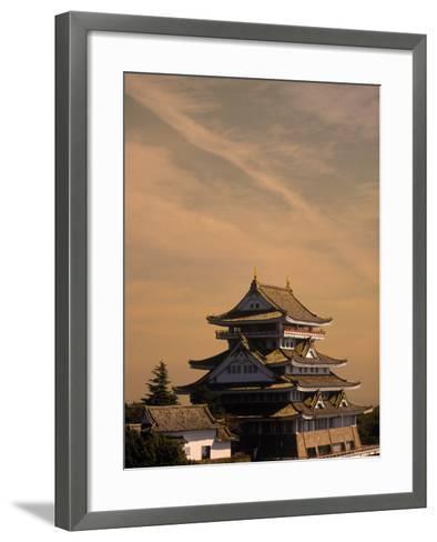 Atami-Jo Castle, Shizuoka, Japan-Walter Bibikow-Framed Art Print