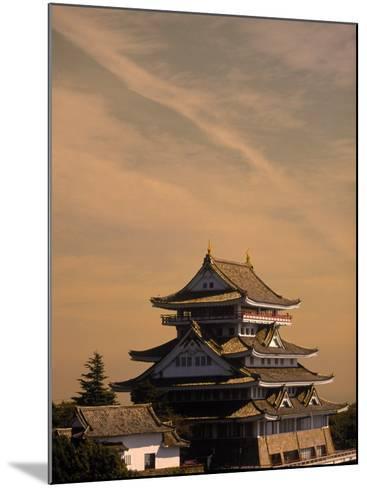 Atami-Jo Castle, Shizuoka, Japan-Walter Bibikow-Mounted Photographic Print