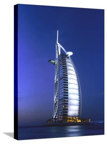 Buri Al Arab, Arabian Tower, Uae-Walter Bibikow-Stretched Canvas Print