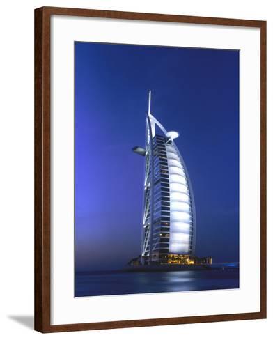 Buri Al Arab, Arabian Tower, Uae-Walter Bibikow-Framed Art Print
