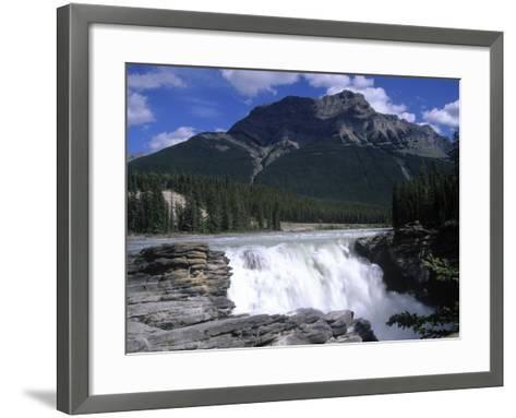 Jasper Area, Waterfall, Canada-Frank Perkins-Framed Art Print
