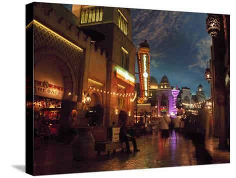 Interior of Aladdin Casino Hotel, Las Vegas-Mark Gibson-Stretched Canvas Print