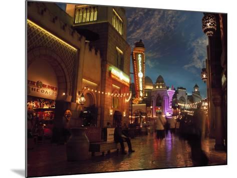Interior of Aladdin Casino Hotel, Las Vegas-Mark Gibson-Mounted Photographic Print