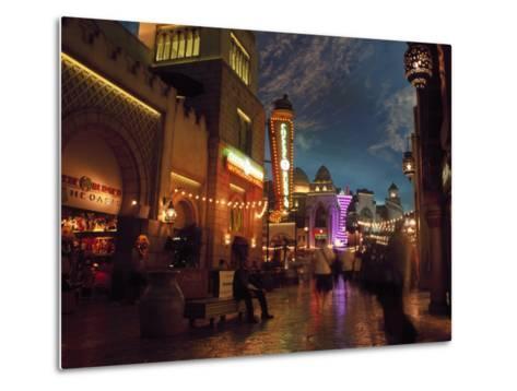 Interior of Aladdin Casino Hotel, Las Vegas-Mark Gibson-Metal Print