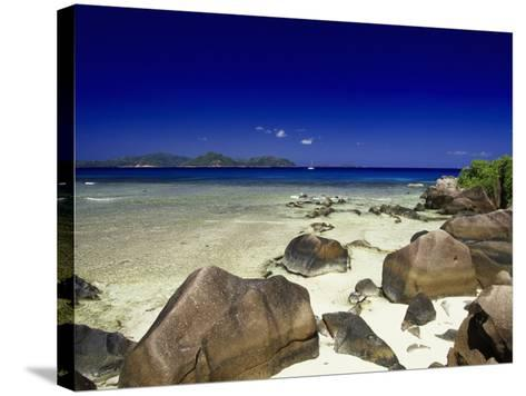 La Digue Isle, Seychelles, Indian Ocean-Angelo Cavalli-Stretched Canvas Print