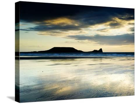 The Worms Head, Gower Peninsula, South Wales-Martin Page-Stretched Canvas Print
