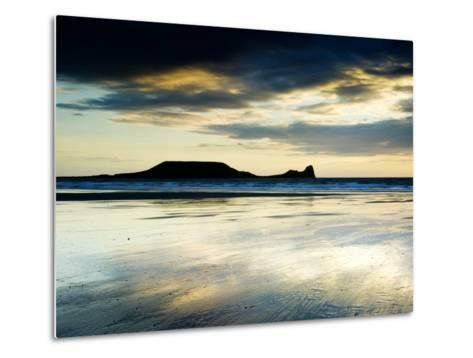 The Worms Head, Gower Peninsula, South Wales-Martin Page-Metal Print