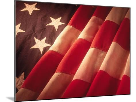 American Flag-Ellen Kamp-Mounted Photographic Print