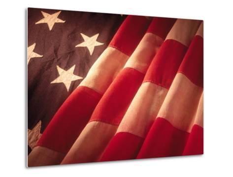 American Flag-Ellen Kamp-Metal Print