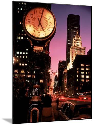 Brooklyn and Manhattan Bridges, NYC-Rudi Von Briel-Mounted Photographic Print