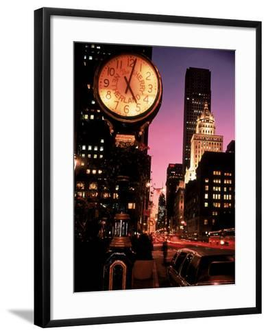 Brooklyn and Manhattan Bridges, NYC-Rudi Von Briel-Framed Art Print