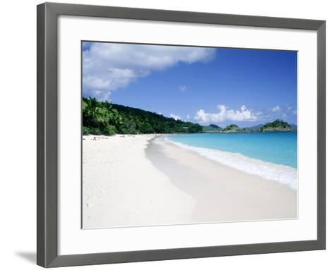 Trunk Bay Beach, St. John-Jim Schwabel-Framed Art Print