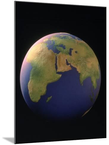 View of the Earth-Matthew Borkoski-Mounted Photographic Print