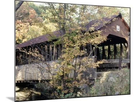 Covered Bridge in Windsor, Vermont-Manrico Mirabelli-Mounted Photographic Print