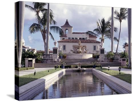 Palm Beach Town Hall, Palm Beach, FL-Robin Hill-Stretched Canvas Print