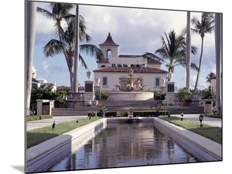 Palm Beach Town Hall, Palm Beach, FL-Robin Hill-Mounted Photographic Print