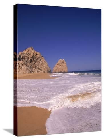 Lover's Beach, Cabo San Lucas, Mexico-Timothy O'Keefe-Stretched Canvas Print