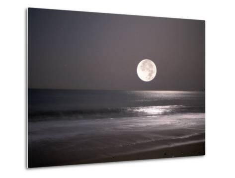 Full Moon-Mitch Diamond-Metal Print
