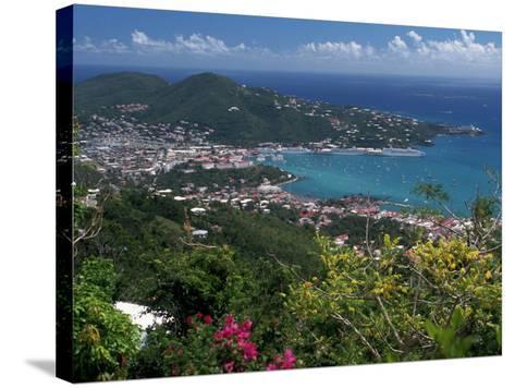 Charlotte Amalie, St. Thomas, USVI-Michele Burgess-Stretched Canvas Print