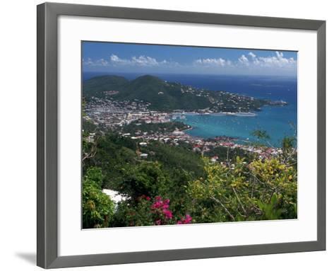 Charlotte Amalie, St. Thomas, USVI-Michele Burgess-Framed Art Print