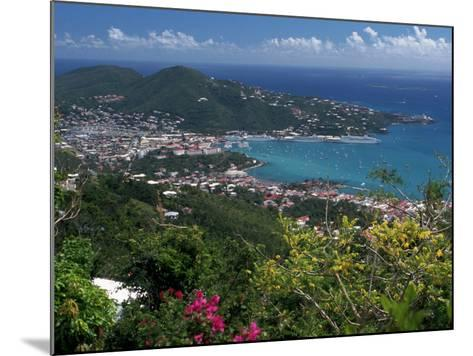 Charlotte Amalie, St. Thomas, USVI-Michele Burgess-Mounted Photographic Print