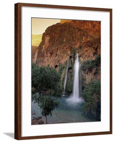 Havasu Falls, Grand Canyon, AZ-Cheyenne Rouse-Framed Art Print
