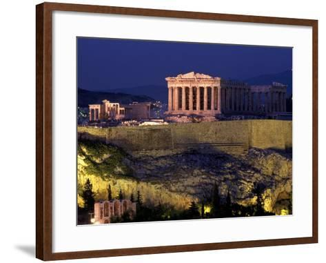 The Acropolis, Greece-Kevin Beebe-Framed Art Print