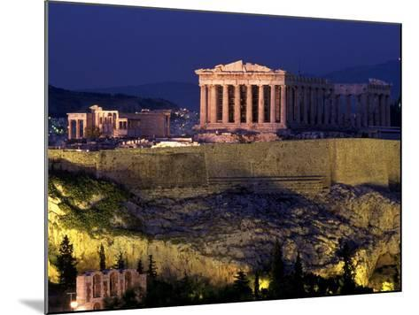 The Acropolis, Greece-Kevin Beebe-Mounted Photographic Print