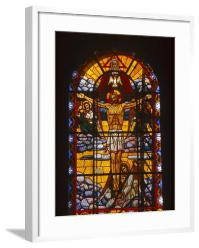 Trinity Cathedral, Addis Ababa, Ethiopia-Michele Burgess-Framed Art Print
