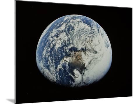 Earth-David Bases-Mounted Photographic Print
