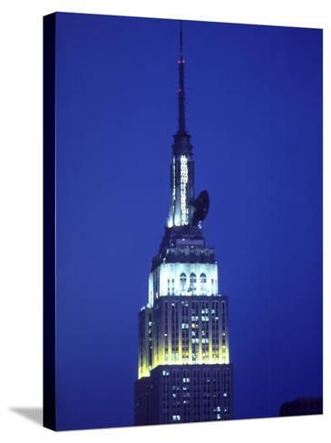 King Kong on Empire State Building, NYC,NY-Chris Minerva-Stretched Canvas Print