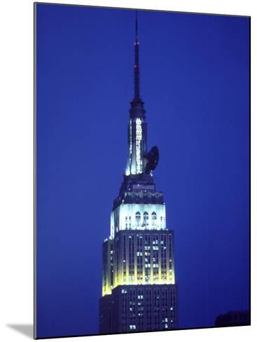 King Kong on Empire State Building, NYC,NY-Chris Minerva-Mounted Photographic Print