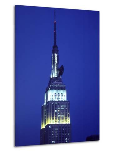 King Kong on Empire State Building, NYC,NY-Chris Minerva-Metal Print